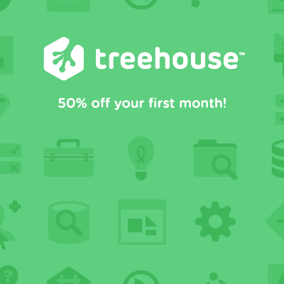 treehouse, coding, fortbildung, lernen