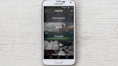 Contex – Mobile App-Design